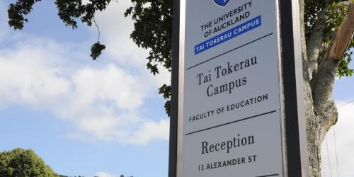 tai tokerau campus sign
