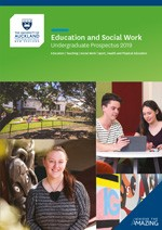 Photo of the cover of 2017 Faculty of Education and Social Work ebook