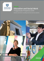 2018 Faculty of Education and Social Work Postgraduate Prospectus