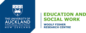 The University of Auckland Woolf Fisher Research Centre logo